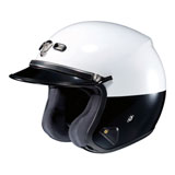 Shoei RJ Platinum R Limited Edition Low-Rise Open-Face Helmet White/Black