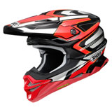 Shoei VFX-EVO Brayton Helmet Red