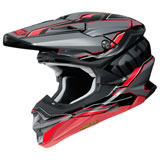 Shoei VFX-EVO Allegiant Helmet Red