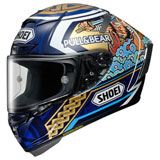 Shoei X-Fourteen Marquez Motegi 3 Helmet Blue