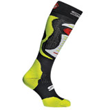 Sidi Faenza Socks Flo Yellow