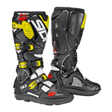 Sidi Crossfire 3 SRS Boots White/Black/Flo Yellow