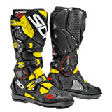 Sidi Crossfire 2 SRS Boots Black/Fluorescent Yellow
