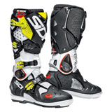 Sidi Crossfire 2 SRS Boots White/Black/Flo Yellow