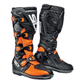 Sidi X-3 SRS Boots Black/Flo Orange