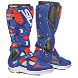 Sidi Crossfire 3 SRS Boots White/Blue/Flo Red