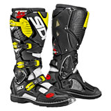 Sidi Crossfire 3 TA Boots White/Black/Flo Yellow