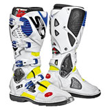 Sidi Crossfire 3 TA Boots Yellow Flo/White/Blue