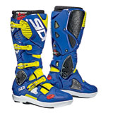 Sidi Crossfire 3 SRS Boots Flo Yellow/Blue