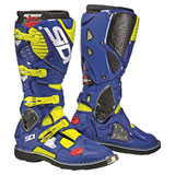 Sidi Crossfire 3 TA Boots Flo Yellow/Blue