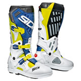 Sidi Atojo SR Boots Flo Yellow/White/Navy Blue