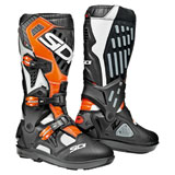 Sidi Atojo SR Boots White/Black/Flo Orange