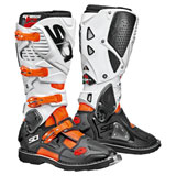 Sidi Crossfire 3 SRS Boots Orange Flo/Black/White