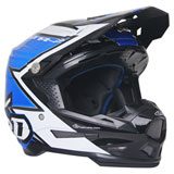 6D ATR-2 Strike Helmet Blue/White