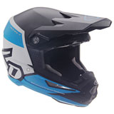 6D ATR-1 Flight Helmet Black/Blue