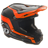 6D ATR-1 Fuse Helmet Orange/Black