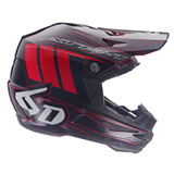 6D ATR-1 Point Helmet Black/Red