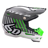6D ATR-2 Motion Helmet Neon Green