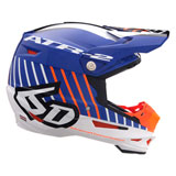 6D ATR-2 Motion Helmet Orange/Blue