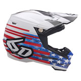 6D ATR-2 Patriot Helmet Red/White/Blue