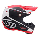6D ATR-2 Shadow Helmet Red/Black
