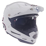 6D ATR-2 Solid Helmet White/Red