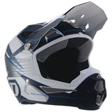6D Youth ATR-1Y Avenger Helmet White/Blue