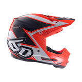 6D Youth ATR-2Y Strike Helmet Orange/White