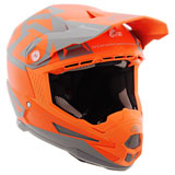 6D ATR-1 Switch Helmet Orange/Grey