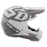 6D ATR-1 Switch Helmet White/Grey