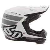 6D Youth ATR-2Y Stripe Helmet White