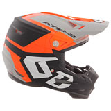 6D ATR-2 Helo Helmet Orange/Grey