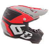 6D ATR-2 Helo Helmet Red/Grey