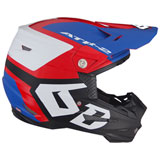 6D ATR-2 Helo Helmet Red/White/Blue