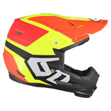 6D Youth ATR-2Y Helo LE Helmet Yellow/Orange/Red