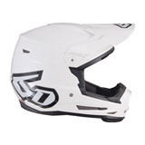 6D Youth ATR-2Y Solid Helmet White