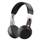 Skullcandy Grind On-The-Ear Wireless Headphones Black/Chrome/Black