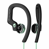 Skullcandy Chops Flex Sport Earbuds with Mic Black/Mint/Swirl