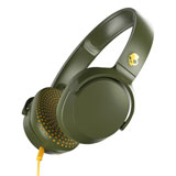 Skullcandy Riff On-The-Ear Headphones Olive