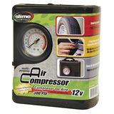 Slime Air Compressor with Pressure Gauge