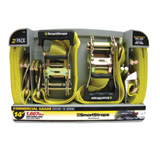 Smartstraps RatchetX Commercial Grade Tie Downs Yellow