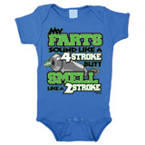 Smooth Industries My Farts 1 Piece Infant Romper