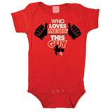Smooth Industries This Guy 1 Piece Infant Romper