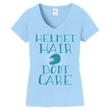 Smooth Industries Women's Helmet Hair T-Shirt