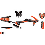 Attack Graphics Custom Spade Complete Bike Graphics Kit