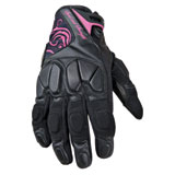 Speed and Strength Cat Out'a Hell Ladies Motorcycle Gloves