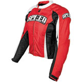 Speed and Strength Throttle Body Ladies Textile Motorcycle Jacket