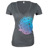 Speed and Strength Throttle Body Ladies T-Shirt