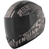 Speed and Strength SS1500 Seven Sins Motorcycle Helmet