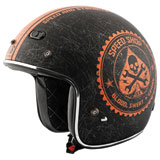 Speed and Strength SS600 Speed Shop Open-Face Motorcycle Helmet
